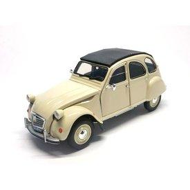 Welly Citroën 2CV cream 1:24