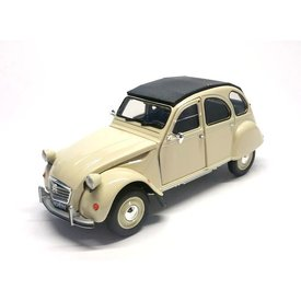Welly Modelauto Citroën 2CV creme 1:24 | Welly