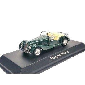 Norev Morgan Plus 8 1980 dunkelgrün - Modellauto 1:43