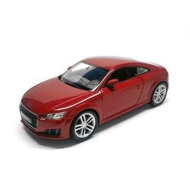 Welly Audi TT 2014 rood - Modelauto 1:24