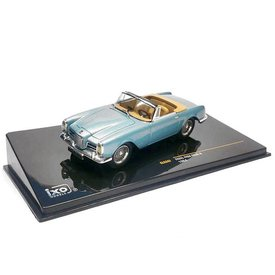 Ixo Models Facel Vega Facel 6 1964 bright blue metallic - Model car 1:43