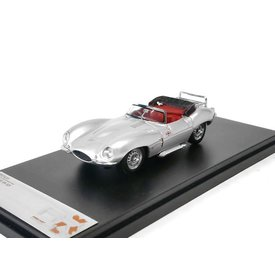 Premium X Jaguar XK SS 1957 zilver - Modelauto 1:43