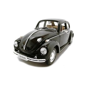 Welly Volkswagen Beetle black - Model car 1:24
