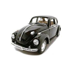 Welly Volkswagen Kever zwart - Modelauto 1:24