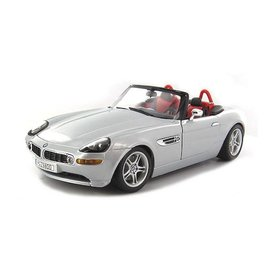 Bburago BMW Z8 zilver - Modelauto 1:18