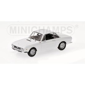 Minichamps Lancia Fulvia 1600 HF 1970 white - Model car 1:43