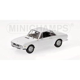 Minichamps Lancia Fulvia 1600 HF 1970 wit - Modelauto 1:43