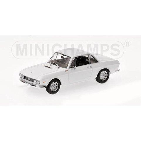 Modelauto Lancia Fulvia 1600 HF 1970 wit 1:43