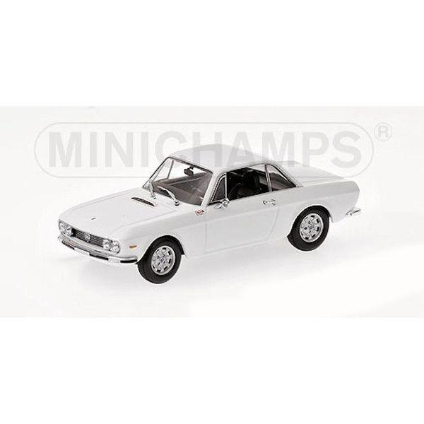 Modelauto Lancia Fulvia 1600 HF 1970 wit 1:43 | Minichamps