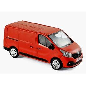 Norev Modelauto Renault Trafic 2014 rood 1:43 | Norev