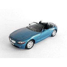 Motormax Model car BMW Z4 blue metallic 1:24 | Motormax