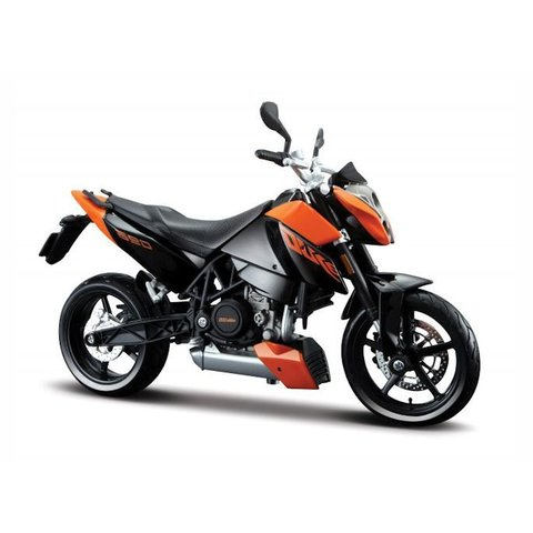 KTM 690 Duke 3 orange/schwarz - Modell-Motorrad 1:12