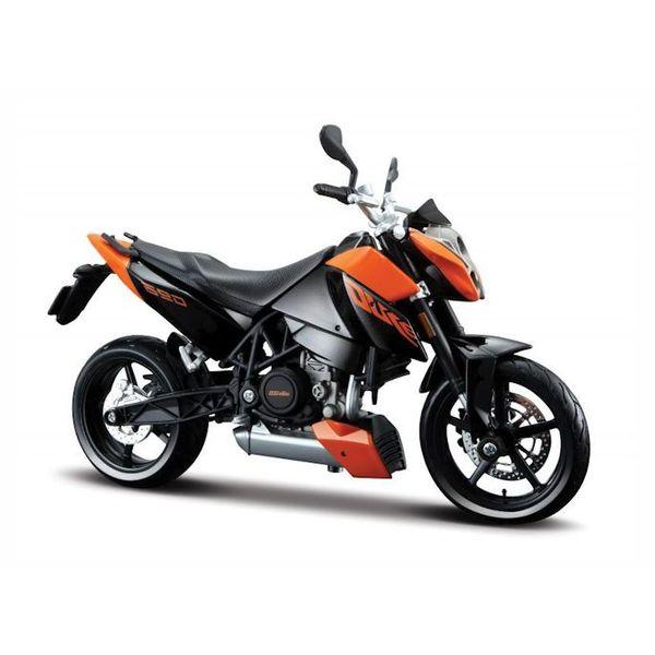 Modelmotor KTM 690 Duke 3 oranje/zwart 1:12   Maisto