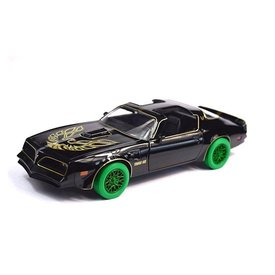 Greenlight Pontiac Firebird Trans Am 1977 Green Machine - Modelauto 1:24