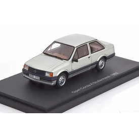 BoS Models (Best of Show) Opel Corsa A Saloon 1982 silver - Model car 1:43