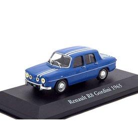 Atlas Renault 8 Gordini 1965 blauw/wit - Modelauto 1:43