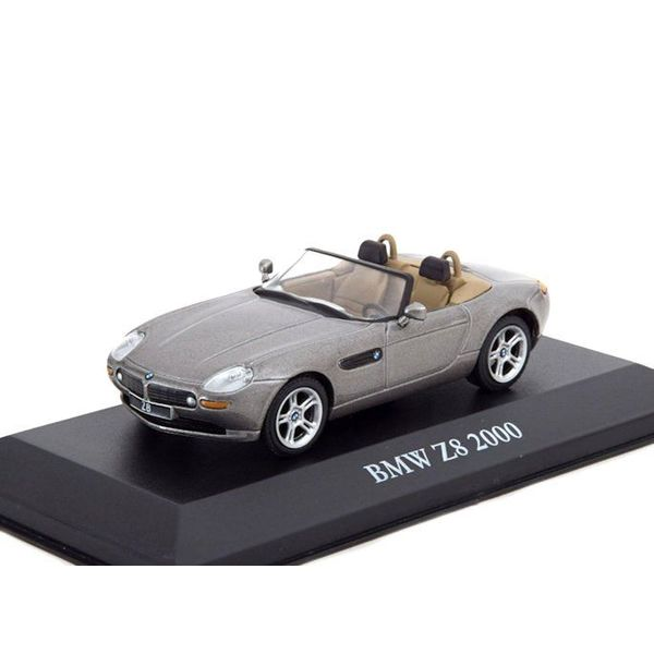 Modelauto BMW Z8 2000 grijs metallic 1:43