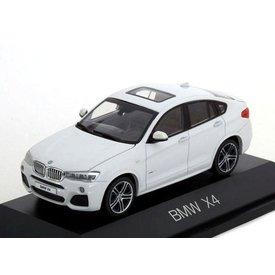 Herpa Model car BMW X4 (F26) 2015 white metallic 1:43 | Herpa
