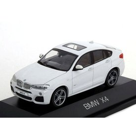 Herpa Modelauto BMW X4 (F26) 2015 wit metallic 1:43 | Herpa