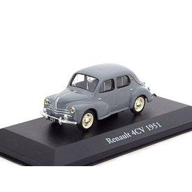 Atlas Model car Renault 4CV 1951 grey 1:43