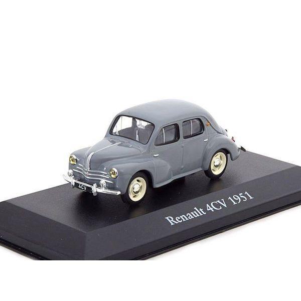 Model car Renault 4CV 1951 grey 1:43 | Atlas (Editions Atlas)