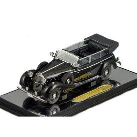 Signature Models Modelauto Mercedes Benz 770K Cabriolet 1938 zwart 1:43 | Signature Models