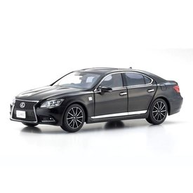 Kyosho Lexus LS460 F Sport black - Model car 1:43