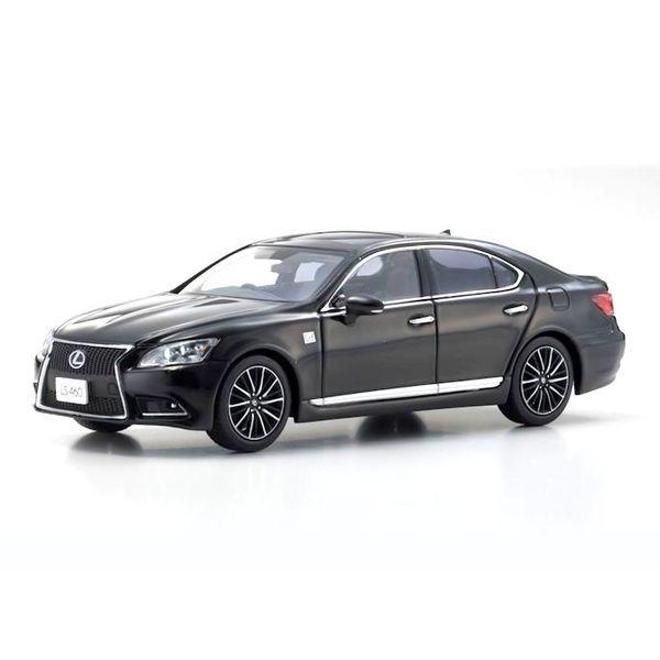 Model car Lexus LS460 F Sport black  1:43