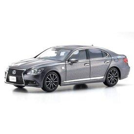 Kyosho Lexus LS460 F Sport grey metallic - Model car 1:43