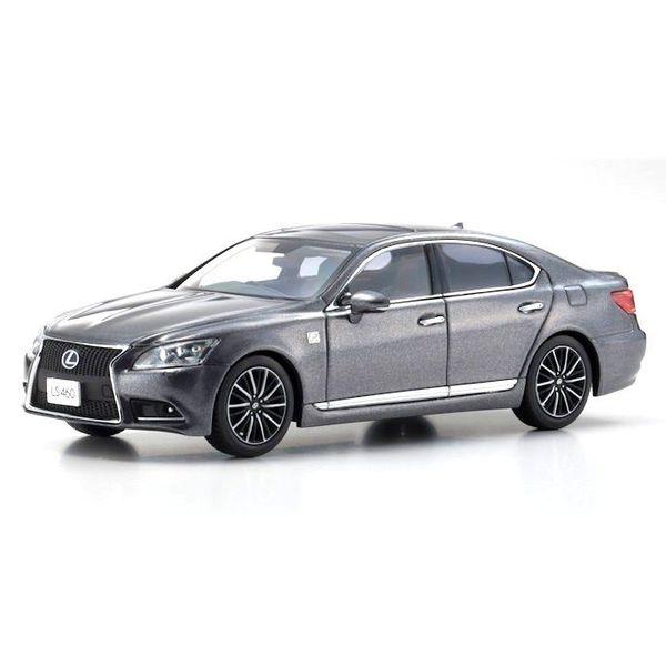 Modelauto Lexus LS460 F Sport grijs metallic 1:43