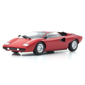 Kyosho Lamborghini Countach LP400 rood - Modelauto 1:18