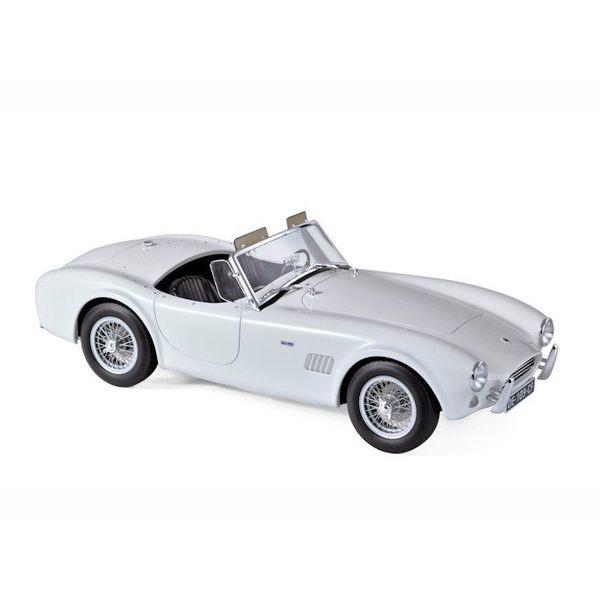 Modellauto AC Cobra 289 1963 weiß 1:18 | Norev