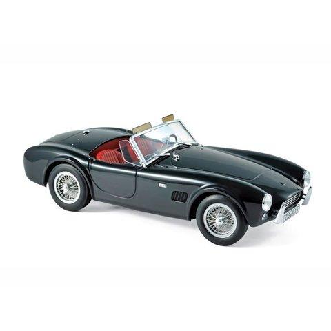AC Cobra 289 1963 zwart - Modelauto 1:18
