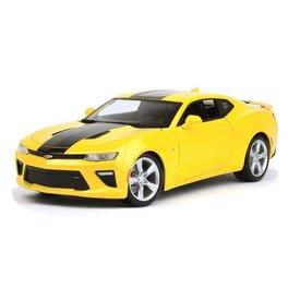 Maisto Chevrolet Camaro SS 2016 yellow - Model car 1:18