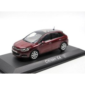 Norev Citroën C4 2015 Babylone red 1:43