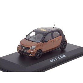 Norev Smart Forfour 2014 brown metallic/black - Model car 1:43