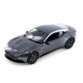 Motormax Aston Martin DB11 donkergrijs metallic - Modelauto 1:24