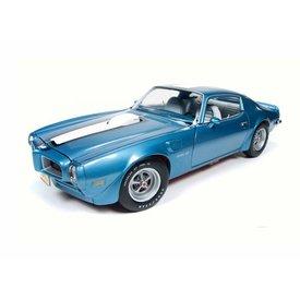 Ertl / Auto World Modelauto Pontiac Firebird Trans Am 1972 blauw metallic 1:18 | Ertl / Auto World