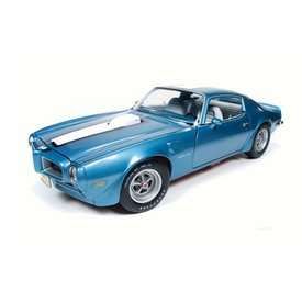 Ertl / Auto World Modellauto Pontiac Firebird Trans Am 1972 blau metallic 1:18 | Ertl / Auto World