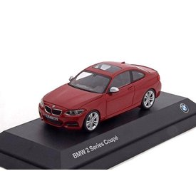 Minichamps BMW 2 Series Coupé (F22) red - Model car 1:43