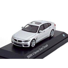 Kyosho Modelauto BMW 4 Serie Gran Coupe (F36) 2014 zilver 1:43 | Kyosho