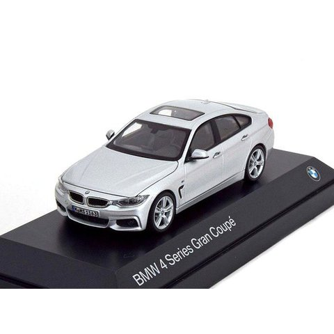BMW 4er Gran Coupe (F36) 2014 silber - Modellauto 1:43