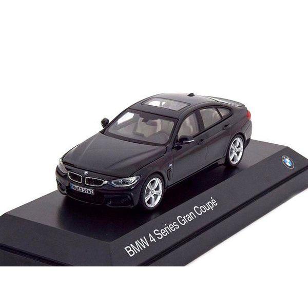 Modelauto BMW 4 Serie Gran Coupe (F36) 2014 zwart 1:43