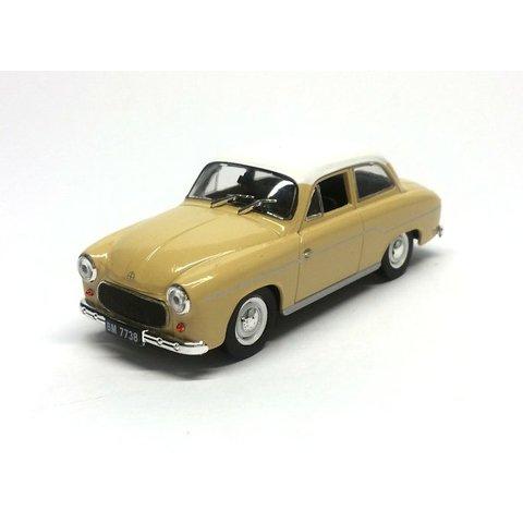 Syrena 103 beige/wit - Modelauto 1:43