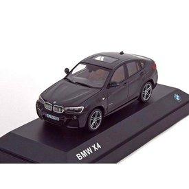Herpa BMW X4 (F26) 2015 zwart metallic - Modelauto 1:43