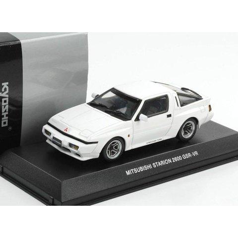 Mitsubishi Starion 2600 GSR-VR 1988 wit - Modelauto 1:43
