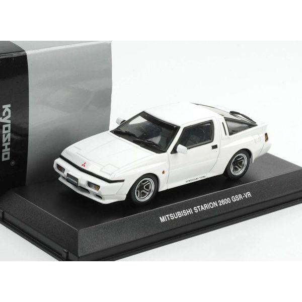Modelauto Mitsubishi Starion 2600 GSR-VR 1988 wit 1:43