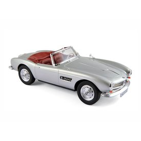 Norev BMW 507 1956 silver - Model car 1:18