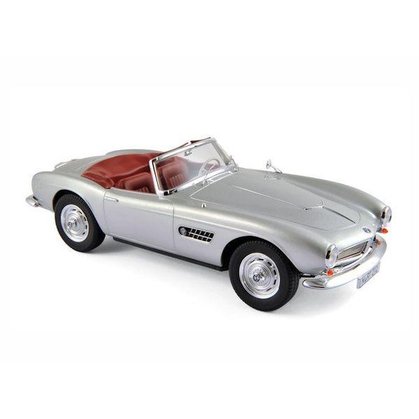 Modellauto Bmw 507 1956 Silber 118 Norev Mdk Miniatures