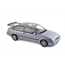Norev Model car Ford Sierra RS Cosworth 1986 grey metallic 1:18 | Norev